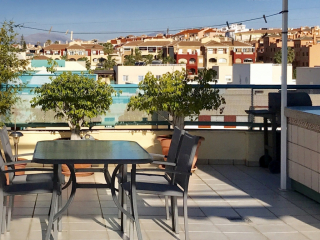 Penthouse with large private roof terrace 4 persons Toboso B