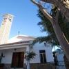 Fassade der Kirche von Almayate