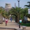 Paseo de Benajarafe con Torre al Fondo