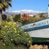 Barco de la rotonda de Rivera de Trayamar