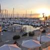 Anochecer en el puerto de Caleta