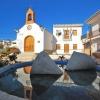 Plaza e iglesia