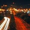 Imagen nocturna de Vélez-Málaga