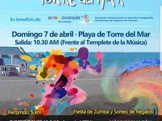 Ya tenemos fecha para la IV Carrera de Color en La Playa de Torre del Mar