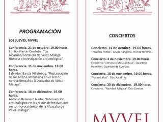 Programación MUVEL Vélez-Málaga