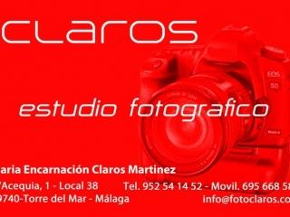 CLAROS – Estudio fotográfico