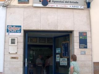 """Administración de Loterías nº 3 """"Virgen de Lourdes"""""""
