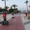 Segway por el paseo marítimo