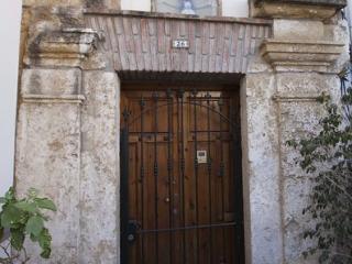 Portada de la Ermita de las Angustias